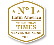 No.1 Latin America - The Sunday Times - Travel Magazine 2011