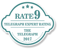 Rate 9 - Telegraph Expert Rating - The Telegraph 2017