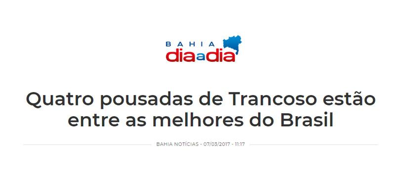 Bahia Dia a Dia destaca Mata N'ativa Pousada